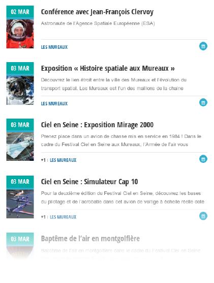 agenda Mars 2018 Les Mureaux