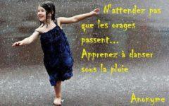 Danser sous la pluie aux Mureaux
