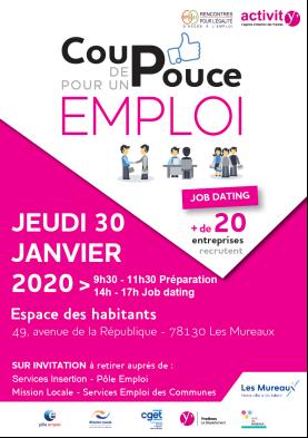 Jobdating 2020 Les Mureaux